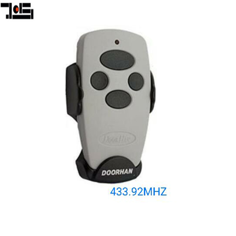 The Remote For DOORHAN 4 Buttons Garage Door Remote Control 433.92MHZ