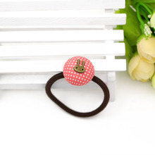 Mushroom Shape Dots Elastic Hair Ties