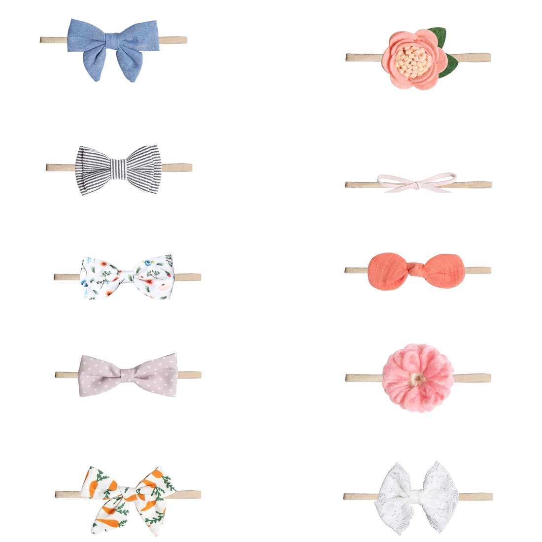 baby headbands headwear girls bow knot hairband head band infant newborn Toddlers Gift tiara hair accessories clothes in Hair Accessories from Mother Kids