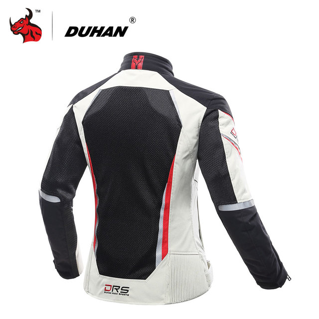 DUHAN Women Motorcycle Jacket Breathable Motorcycle Clothing Summer Women Moto Jacket And Motorcycle Pants Racing Clothes Suit 2