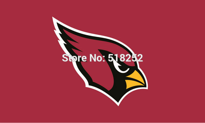 Arizona Cardinals Red Flag 3x5 FT 100D150X90CM Banner Polyester flag 5077. free shipping