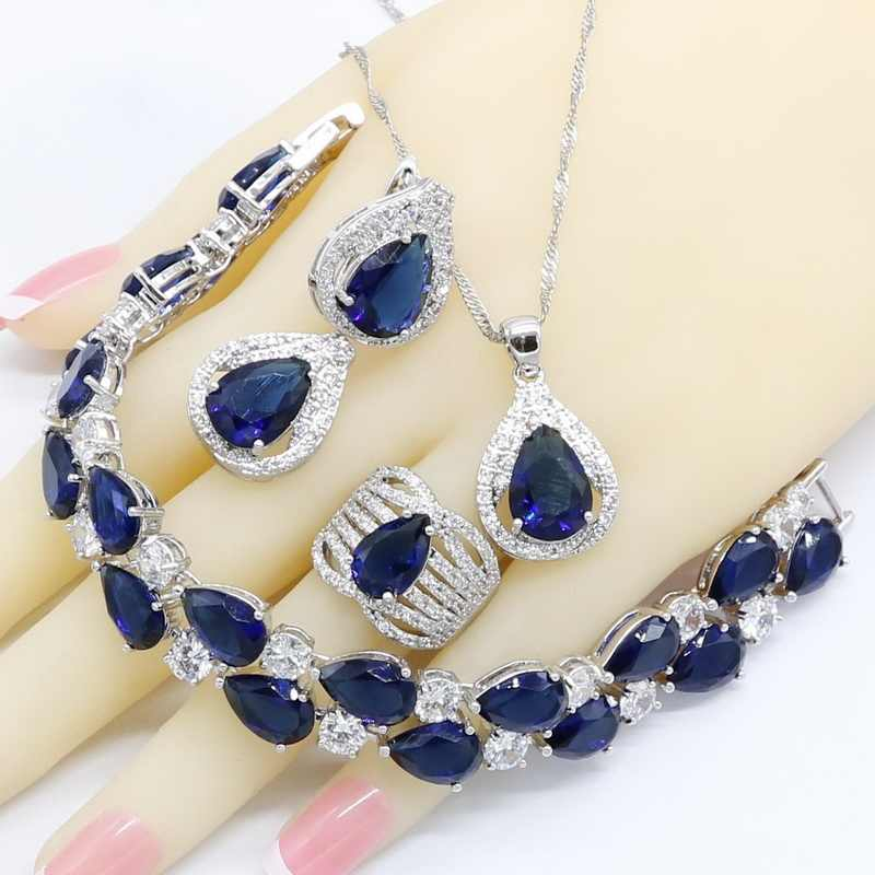 Royal Blue Semi-precious 925