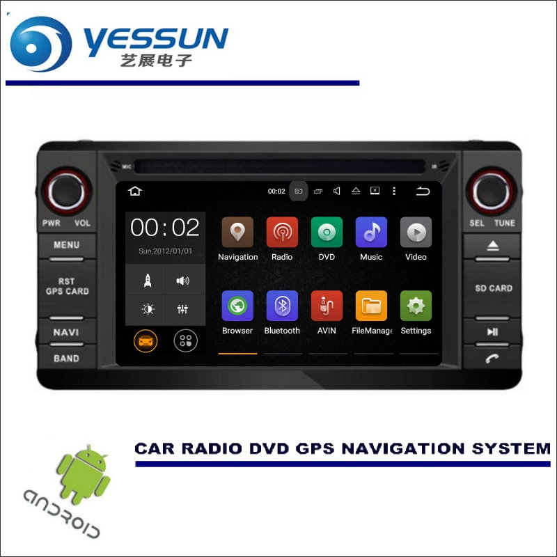 YESSUN Car Multimedia Navigation For Mitsubishi Outlander / Lancer / ASX 2013~2016 CD DVD GPS Player Navi Radio Wince / Android car tempered glass screen dvd gps lcd guard stereo multimedia protective film sticker for mitsubishi asx outlander lancer pajero