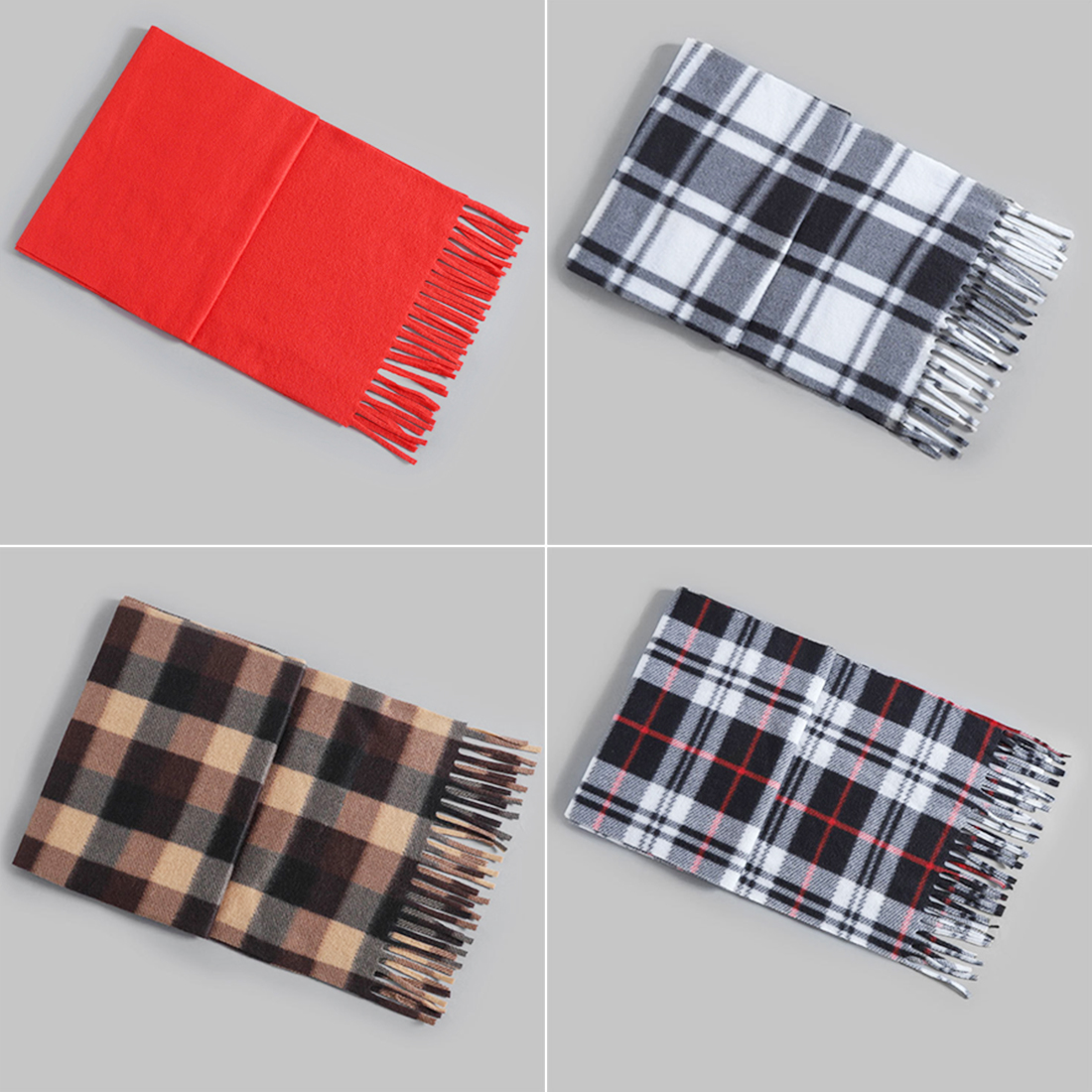 2018 New Cotton Scarf Men's Business Scarf Autumn And Winter Models Wool Scarf Female & Male Commuter Model Scarf Big Shawl 1PCS