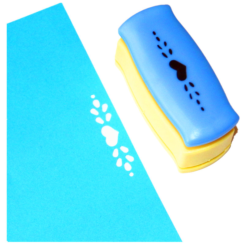 Free Ship Heart Punches For Scrapbooking Cortador De Papel Perfurador De Papel Border Punch Edge Lace Punch Card Make Paper R327