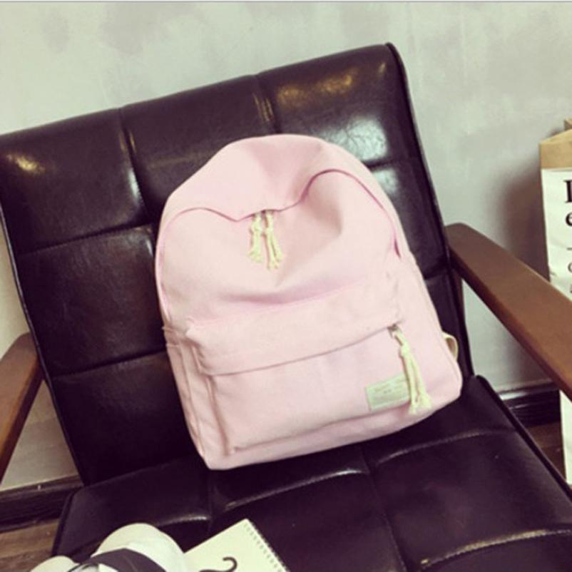 maison Backpacks high quality Canvas fashion Boys Girl Students College Wind Backpack Zipper Travel backpack women 2018MA8