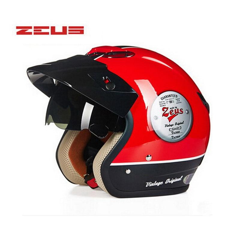 ZEUS ներքին UV Visor բաց դեմքի ինքնաթիռի - Պարագաներ եւ պահեստամասերի համար մոտոցիկլետների - Լուսանկար 5