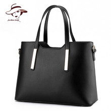 2017 nueva llegada de la manera de LA PU de cuero bolsa de asas del bolso sólido bolso de las mujeres bolsa de mensajero impermeable famosa marca bolso de las mujeres