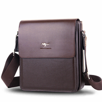 Mens Fashion Business Cow Leather Shoulder Bags Crossbody Bag Luxury OL Messenger Bags Big Tote Male