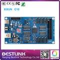 Xixun с10 асинхронный гамма из светодиодов управления 1024 x 64 пикселей контроллер гамма из светодиодов видеостены рекламный щит из светодиодов электронные