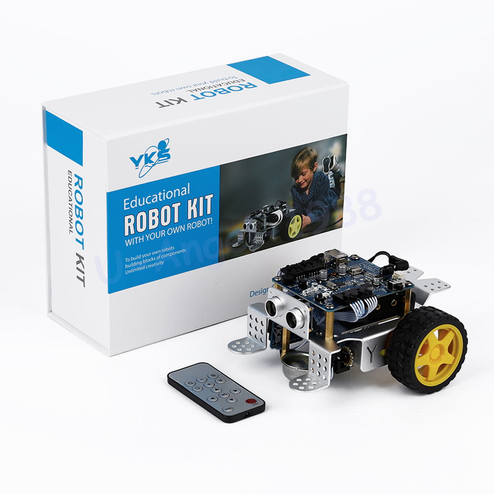 1pcs YKS mBot V1.1 Programmable Kids Toys Educational birthday Gift STEM education with Fun DIY Smart Robot Car Kit