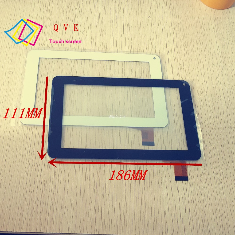 Black white  IRBIS TZ01 TZ02 7inch tablet pc capacitive touch screen panel digitizer glass new 7 inch tablet pc mglctp 701271 authentic touch screen handwriting screen multi point capacitive screen external screen