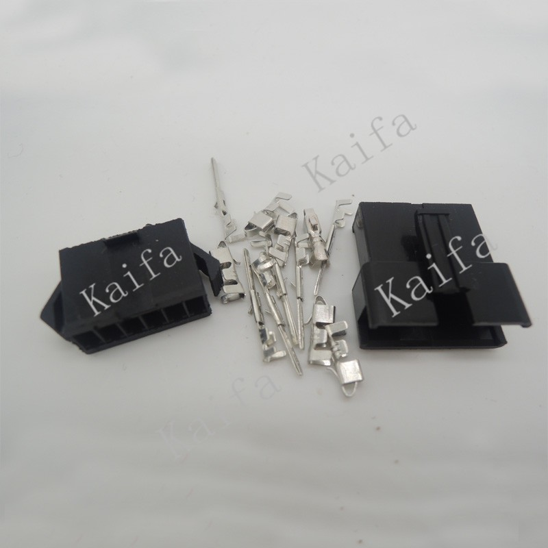 (20sets/lot)(connectors|SM) SM 6Pin Pitch 2.54MM  Female and Male Housing + terminals  SM-6P SM-6R JST 2.54MM SM2.54 sm g361hhadser