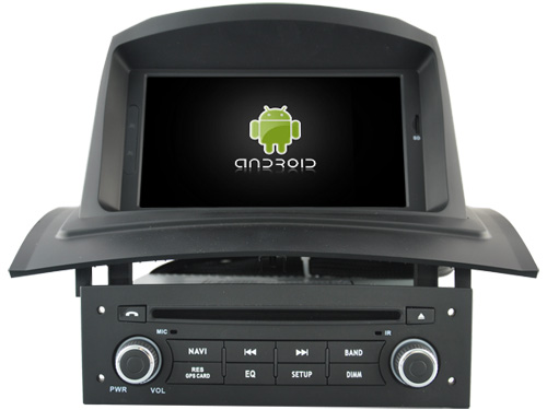 Android 8.1.0 2GB ram car <font><b>dvd</b></font> player auto radio for RENAULT <font><b>Megane</b></font> <font><b>2</b></font> II Fluence 2002-2008 <font><b>gps</b></font> head unit tape recorder 3G BT WIFI image