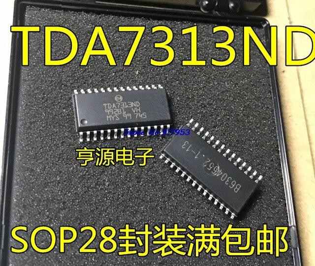 1pcs/lot 100% New And Original TDA7313 TDA7313D TDA7313ND SOP-28  In Stock