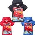 2016 Big Herói 6 Meninos Camiseta Baymax T-Shirts Para Crianças bebê Dos Desenhos Animados Verão das Crianças Camiseta Meninos Roupas Roupas Infantis Menino
