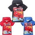 2016 Big Hero 6 Baymax Chicos T Shirt Camisetas Para Los Niños bebé de la Historieta Del Verano de Los Niños T Camisa de Chico Ropa Roupas Infantis Menino