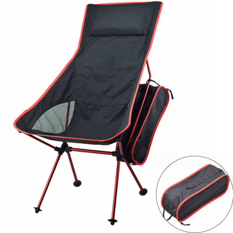 2020 Outdoor Camping Chair Oxford Cloth Portable Folding Camping Chair Seat