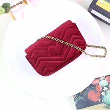 100% Genuine Leather Women's High Quality Small Handbag Luxury Brand Square Striped Bag Metal Chain Shoulder Bag Free Shipping