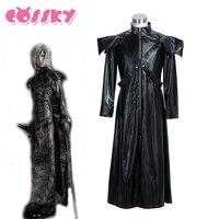 Final Fantasy Cosplay Kadaj Costume Halloween Costumes Outerwear Winter Fall Coat