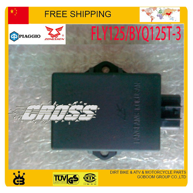 zongshen PIAGGIO CDI BOX 125cc SCOOTER FLY125/BYQ125T-3 parts CDI  8pin sccessories free shipping
