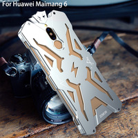 Original Zimon Case For HUAWEI Nova 2i Powerful Shockproof Screw Ironman Metal Aluminum Phone Cases For