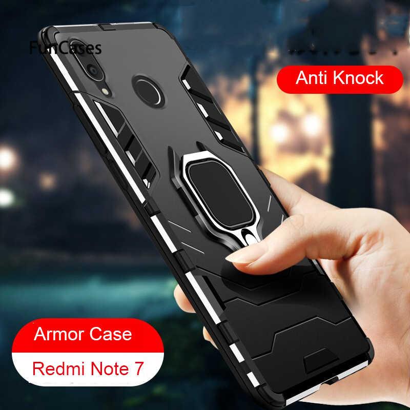 Роскошный чехол для Xiaomi Redmi Note 6 Pro mi 8 Lite Note 7 Fundas с кольцом для пальцев Чехлы для Xiaomi mi 5x 6X Note 4X5 4 Pro Capa