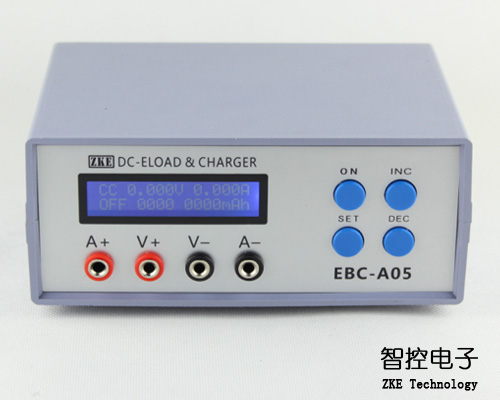 EBC-A05 electronic load, mobile power charging head test, battery capacity tester, cycle charge battery capacity testing electronic load nicd and nimh mobile power supply tester tec 06 lithium battery