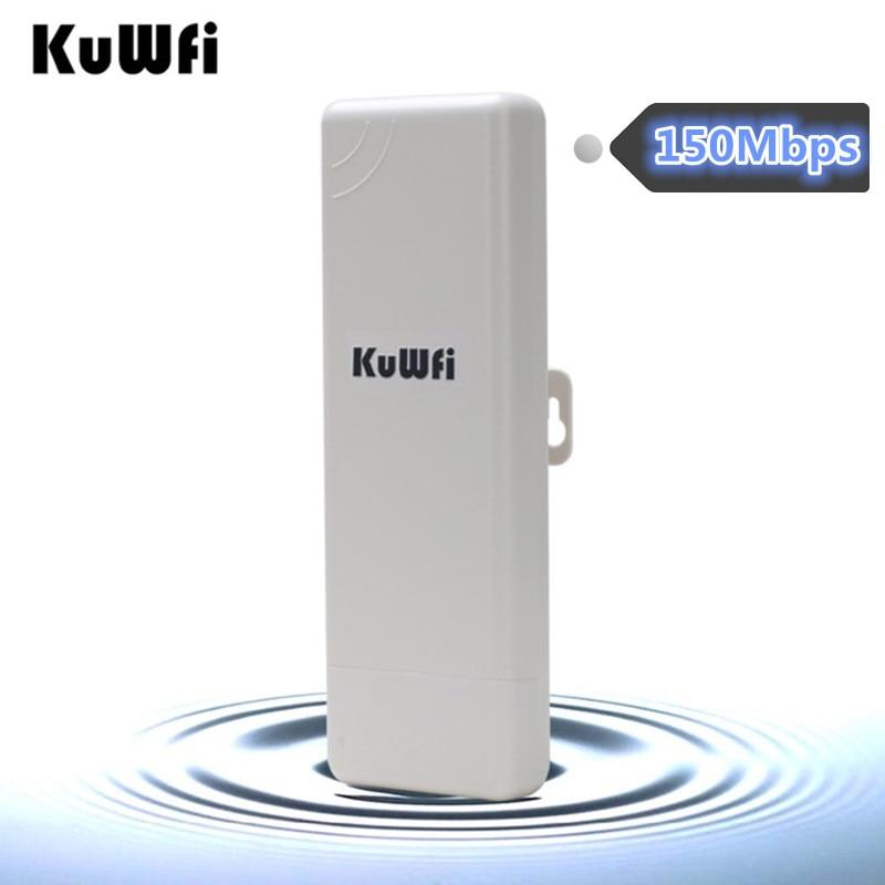 150Mbps 2.4G Outdoor Wireless CPE Router WIFI Repeater WIFI Extender Access Point Router Waterproof WIFI Bridge 2KM WIFI Range wifi