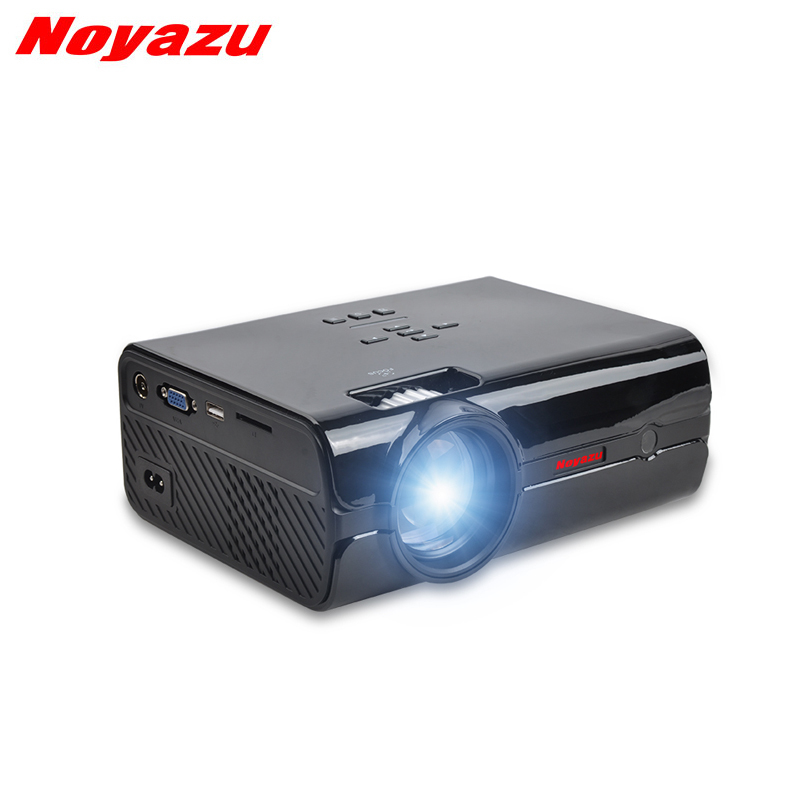 Noyazu BL15 Mini LED LCD projector For Home Theater projectors 1500Lumens HDMI Support Full HD 1080P Support AV\VGA\USB\SD mini led projector bl 18 proyector portable pico projektor 500lumen full hd projectors av vga sd usb hdmi video beamer projetor