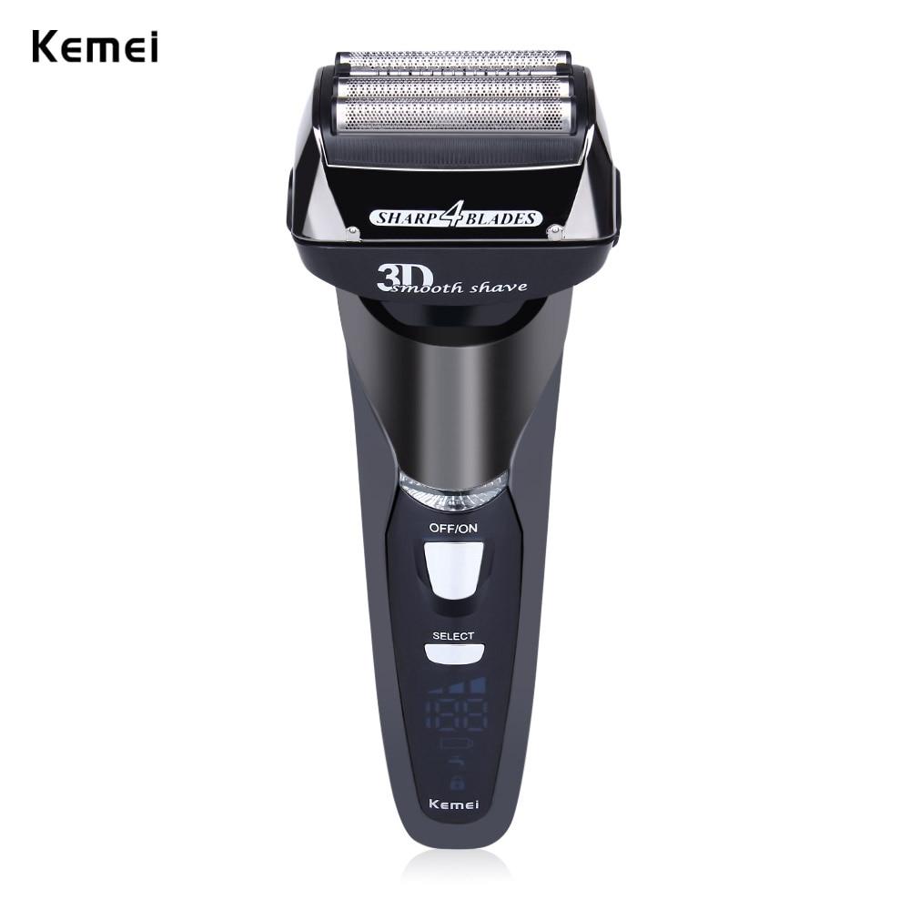Kemei KM - 8150 EU Plug Rechargeable Cordless Electric Shaves