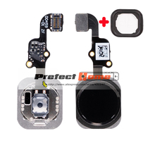 """10pcs/lot NEW Home Button with Flex Cable for iPhone 5S 6S 6 4.7"""" / 6 Plus 5.5""""  Home Flex Assembly"""