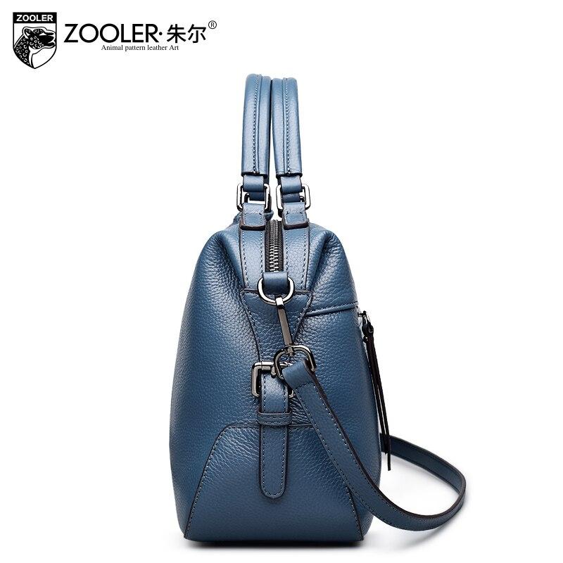 Bagaj ve Çantalar'ten Üstten Saplı Çanta'de ZOOLER 2019 tasarlanmış yumuşak hakiki deri çanta kadın deri çantalar markalar lüks omuzdan askili çanta bayanlar Tote çanta Bolsa Feminina'da  Grup 3