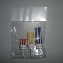 Wholesale Pack 3 Colors ( Different Sizes) GOLF TEES BRUSH Driver Training Accessory Tool Hairbrush TEE Golf Accessories