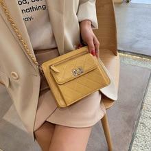 Female Crossbody Bag For Women 2019 Quality PU Leather Luxury Handbags Designer Sac A Main Ladies Lattice Shoulder Messenger