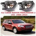 Для land rover Freelander 2 2006 автомобилей Внешний Передний бампер Противотуманные Фары галогеновые противотуманные лампы Страна происхождения