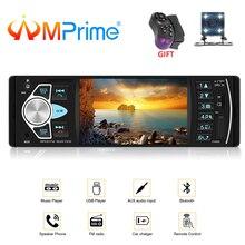 AMPrime Авторадио 4022D 4,1 «1 Din автомобильный Радио Аудио стерео USB AUX FM Аудио плеер радио станция с пультом дистанционного управления автомобильный аудио