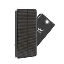 PowerGreen Aluminum Solar Charger 10000mAh Thin Solar Power Bank Mini Solar Panel for Iphone for Sale