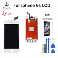 """3PCS/Lot AAA None spot Pantalla ecran Replacement For iPhone 6S LCD 4.7"""" Display touch Screen Digitizer Assembly Free shipping"""
