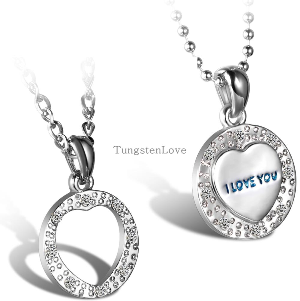 Popular Matching Heart Necklace for Couples-Buy Cheap Matching ...