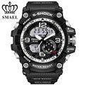 Más nuevos Hombres Del Reloj Del Deporte 2017 Reloj Masculino LLEVÓ pulsera de Cuarzo Militar Relojes de Los Hombres de Primeras Marcas de Lujo Digital de reloj Relogio masculino