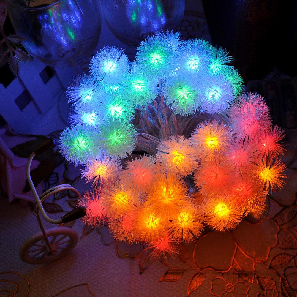 m led de batera luces de hadas de cuerdas para la fiesta de boda de navidad decoracin led festn guirnalda de luz
