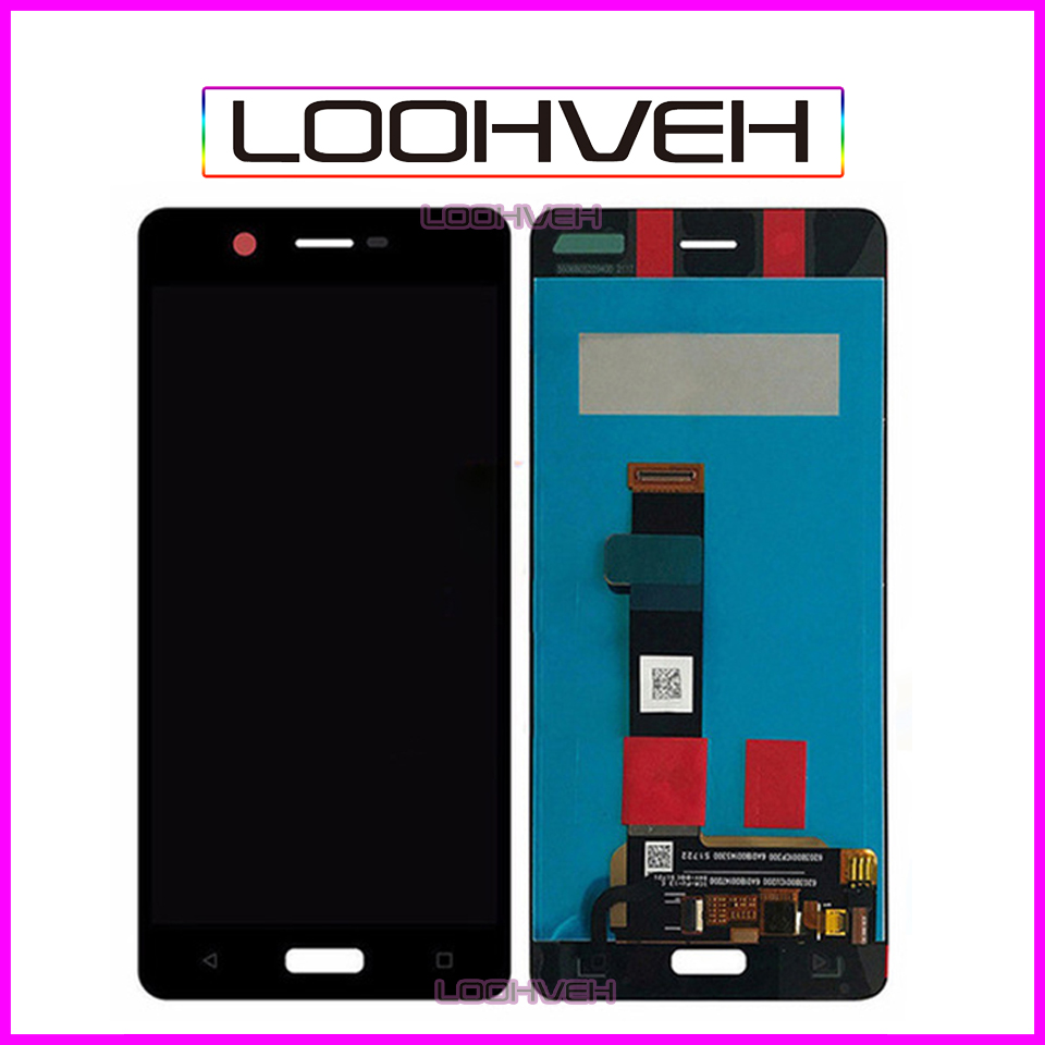 5.2 For Nokia 5 LCD Display Touch Screen Digitizer For Nokia 5N Assembly TA-1008 TA-1030 TA-1053 Pantalla Replacement