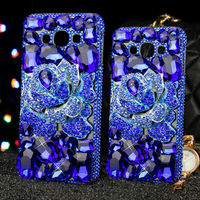 Fashion Rhinestone Cases For Samsung Galaxy J7 J5 J310 J2 J1 J7 Prime On7 TPU Cases