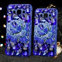 Mode Strass Fällen Für Samsung Galaxy J7 J5 J310 J2 J1 J7 Prime On7 TPU Fällen Rückseitige Abdeckung + Diamant Für A8 A7 A510 2016 Capa