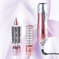 GUOWEI 2 In 1 Multifunctional Electric Hair Dryer Machine Comb Hairdryer Styling Tools Set Home Hairdryer