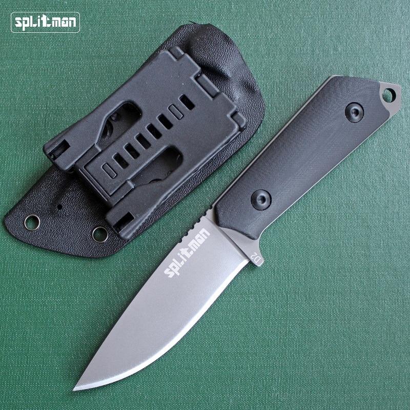 ФОТО Hunting Knife Survival Fixed Blade Titanium Tactical Huntsman Knife Karambit Knives High Quality Camping EDC Knifes + K Sheath