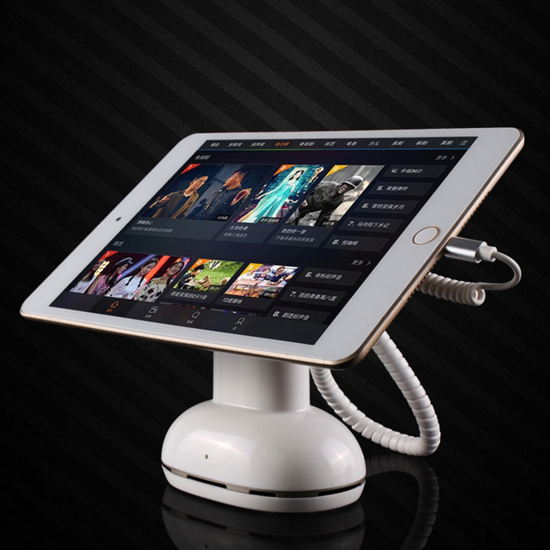 Tablet Anti Theft Display Stand Mobile Phone Alarm Holder Rechargeable Support Cell Phone And Tablet For Iphone Ipad US Plug in Tablet Stands from Computer Office