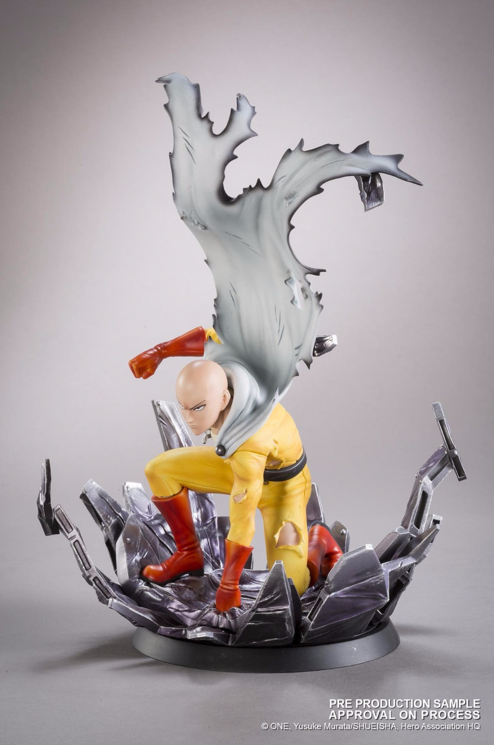 Anime 25cm Saitama Tsume ONE PUNCH MAN Figure Collection Toys with Retail Box
