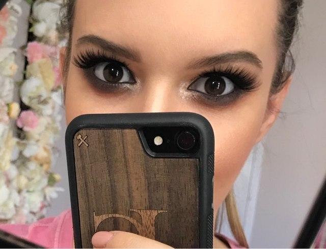 1 Natural False eyelashes set makeup kit 3d mink lashes, 1 eyelash tweezers, 1 eye lashes glue ,1 glue ring mink eyelashes 5